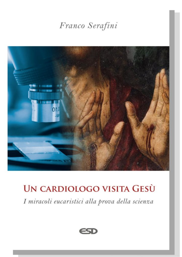 """Copertina del libro """"Un cardiologo visita Gesù"""""""